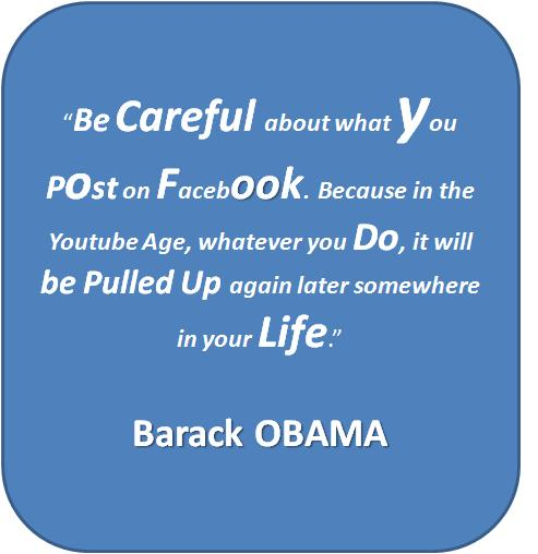 Obama VS Facebook